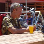 Peddler-Brewing-Co-Seattle-patio-grand-opening-drinking-beer