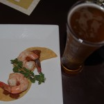 Two-Beers-Seattle-Cider-Dinner-at-The-Swiss-shrimp