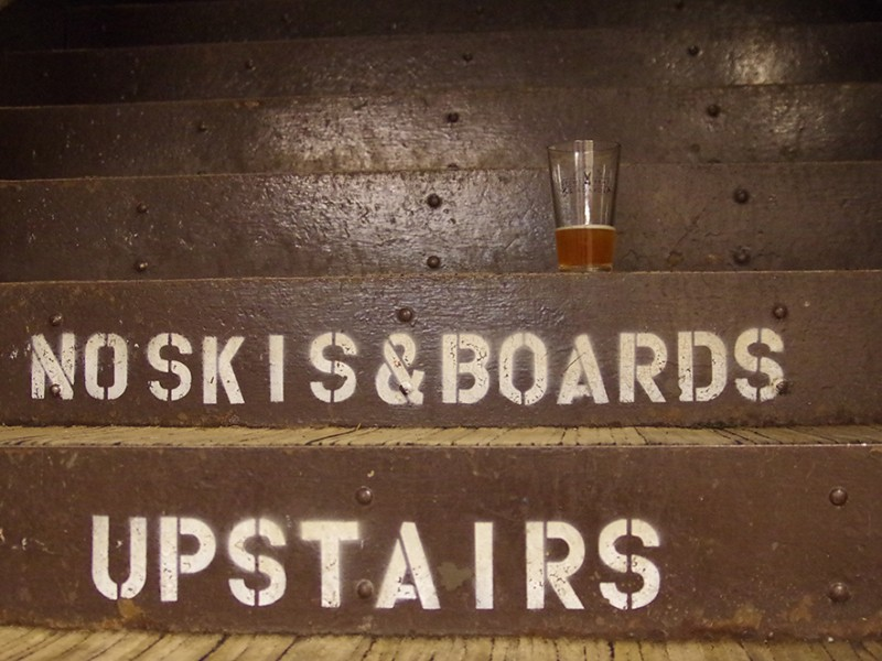 Brews-Brats-and-Boards-White-Pass-stairs-beer