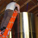 step-by-step-brew-day-at-Top-Rung-Brewing-adding-yeast