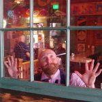 Hop-Valley-Brewing-Beer-Dinner-The-Swiss-Tacoma-Rob-Brunsman-behind-glass