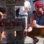 Parkway-Tavern-Tacoma-81st-Birthday-Bash-Coors-Light-Jenga-crouch