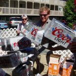 Parkway-Tavern-Tacoma-81st-Birthday-Bash-Coors-Light-Jenga-mess
