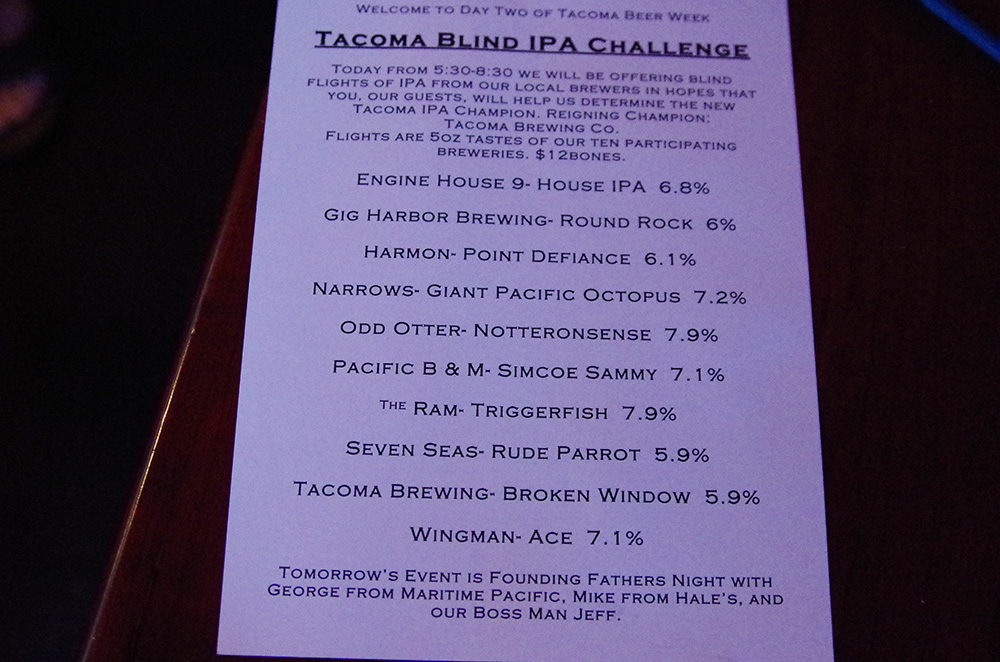 Parkway-Tavern-Tacoma-Brewers-Blind-IPA-Challenge-the-beers