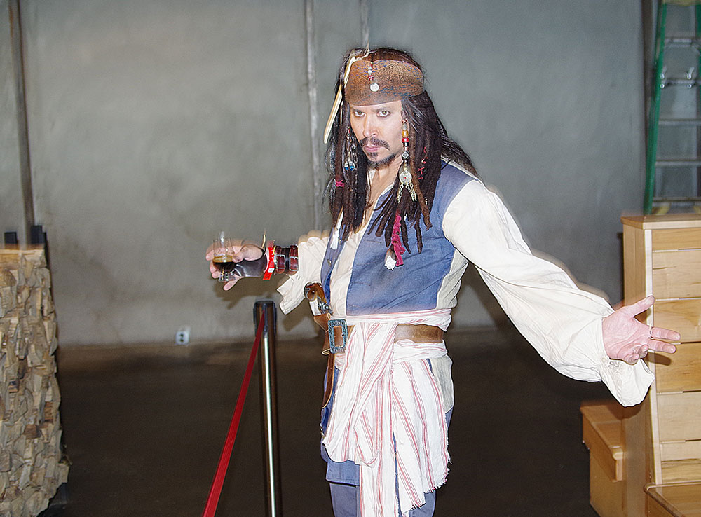 Fort-George-Brewery-Festival-of-the-Dark-arts-Jack-sparrow