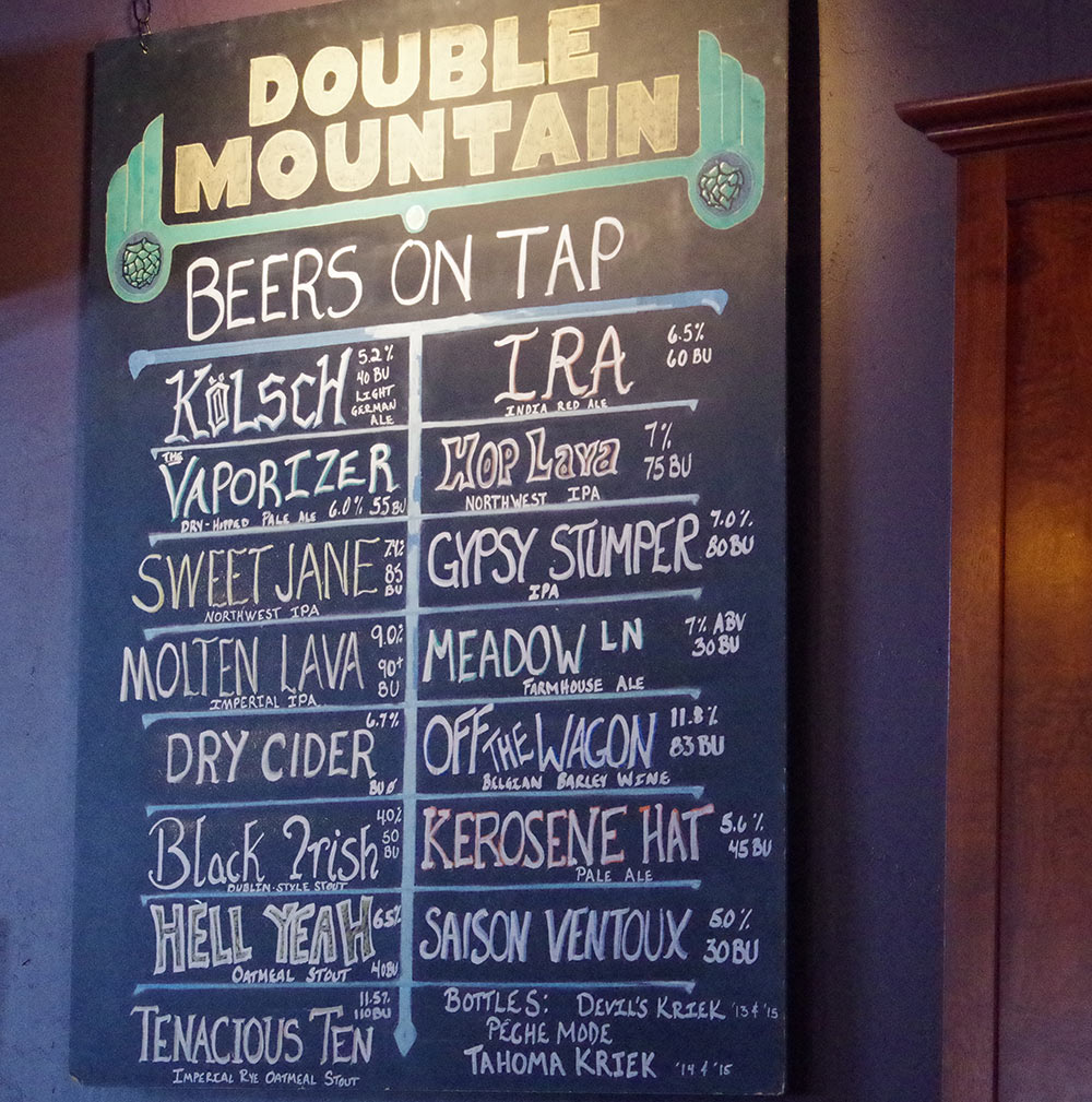 Double-Mountain-Brewery-10th-Anniversary-beers-on-tap