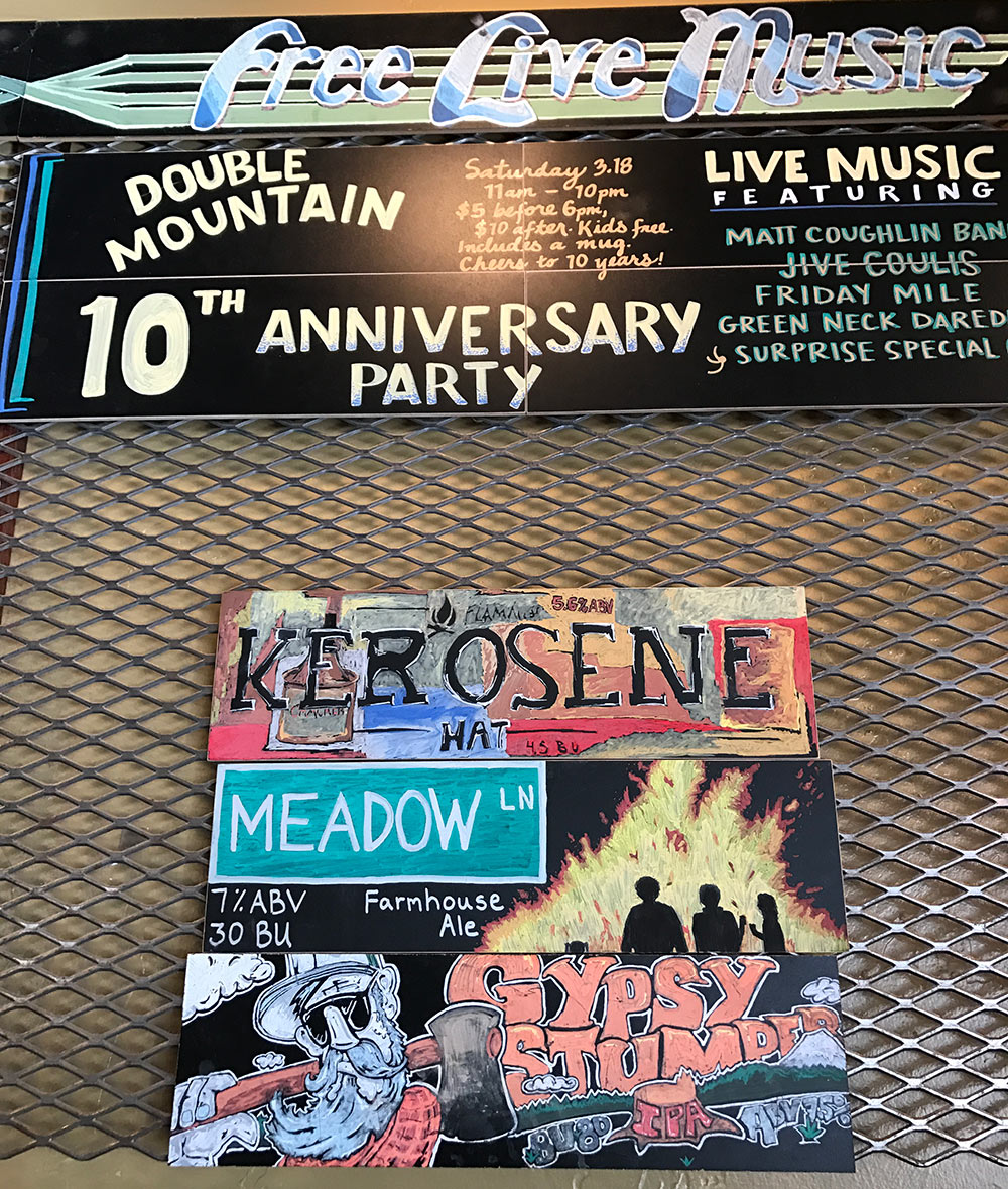 Double-Mountain-Brewery-10th-Anniversary-poster