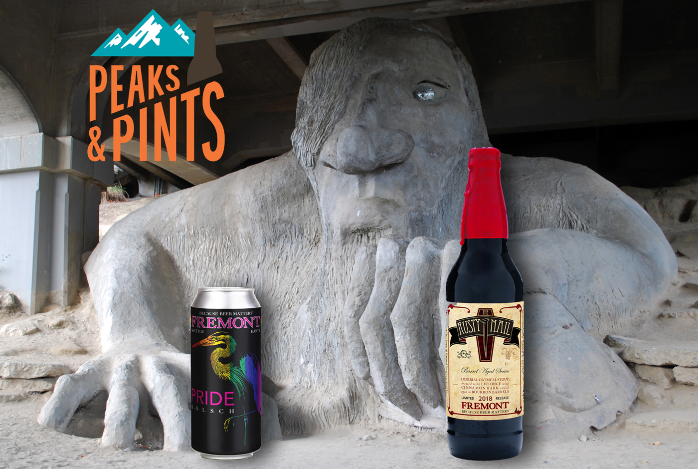 Fremont Brewing Pride Kolsch And Rusty Nail Lodge Meeting Peaks