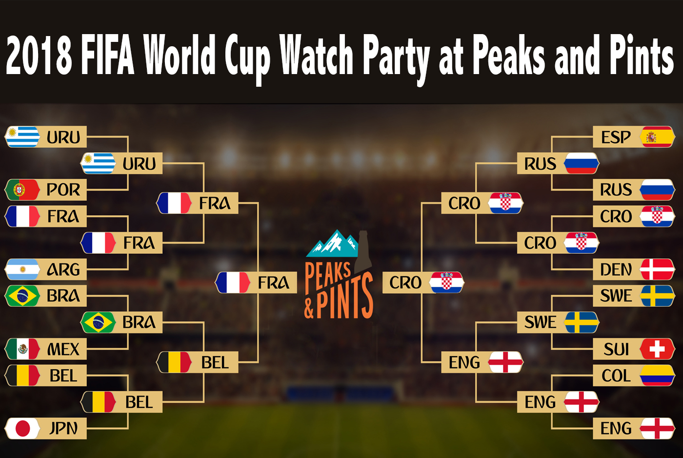 2018 fifa world cup watch party at peaks and pints peaks and pints event navigation junglespirit Choice Image