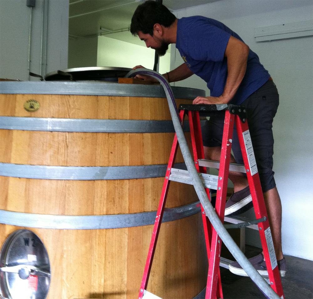 New-Belgium-Brewing-Company-Wood-Cellar-Director-Eric-Salazar-Tacoma