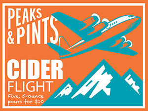 Peaks-and-Pints-Monday-Cider-Flight-Tacoma