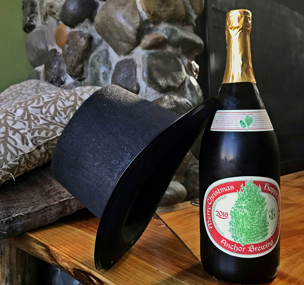 Anchor Steam Christmas Ale.Fancy Pants Sunday Anchor 2018 Christmas Ale Peaks And Pints Tacoma