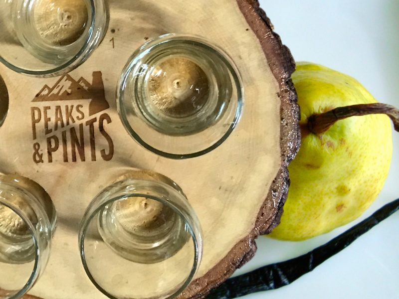 Peaks and Pints Monday Cider Flight 11.5.18: Pear and Vanilla