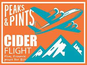 Peaks-and-Pints-Monday-Cider-Flight-Tacoma