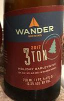 Wander-2017-3-Ton-Holiday-Barleywine-Tacoma