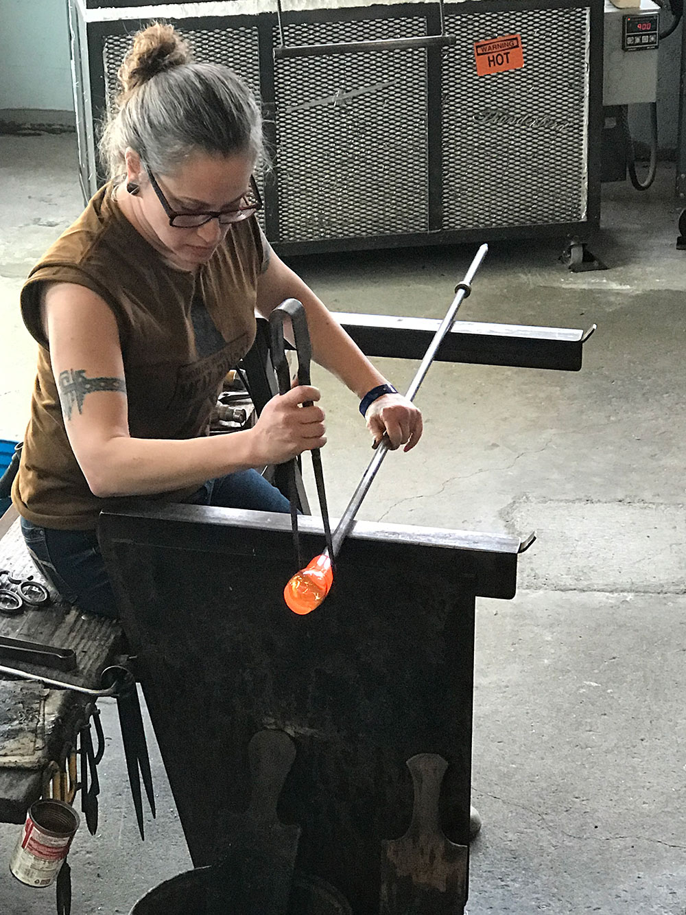 Fort-George-2019-Festival-of-the-Dark-Arts-glass-blowing