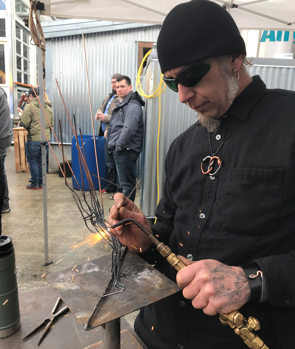 Fort-George-2019-Festival-of-the-Dark-Arts-welding