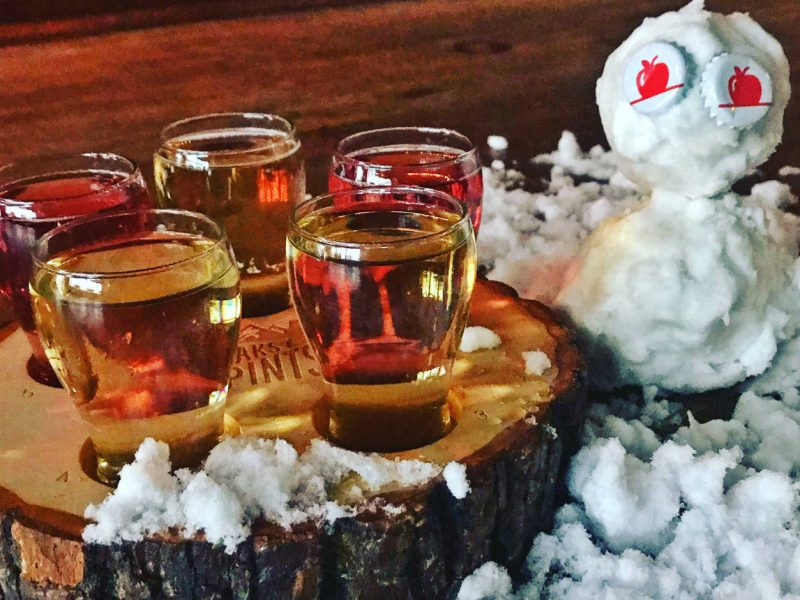 Peaks-and-Pints-Monday-Cider-Flight-2-4-19-Snow-Day