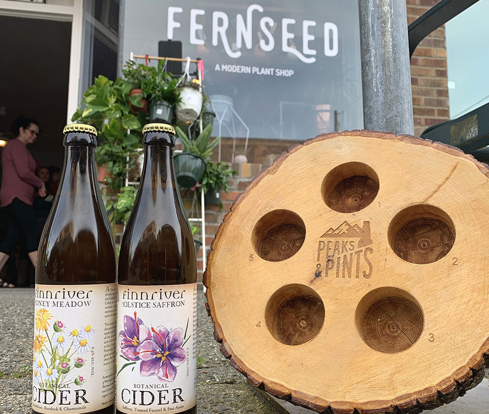 Peaks-and-Pints-Monday-Cider-Flight-Fernseed-and-Finnvriver-Tacoma