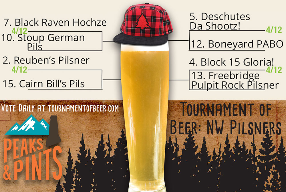 Tournament-of-Beer-Northwest-Pilsners-First-Round-April-12