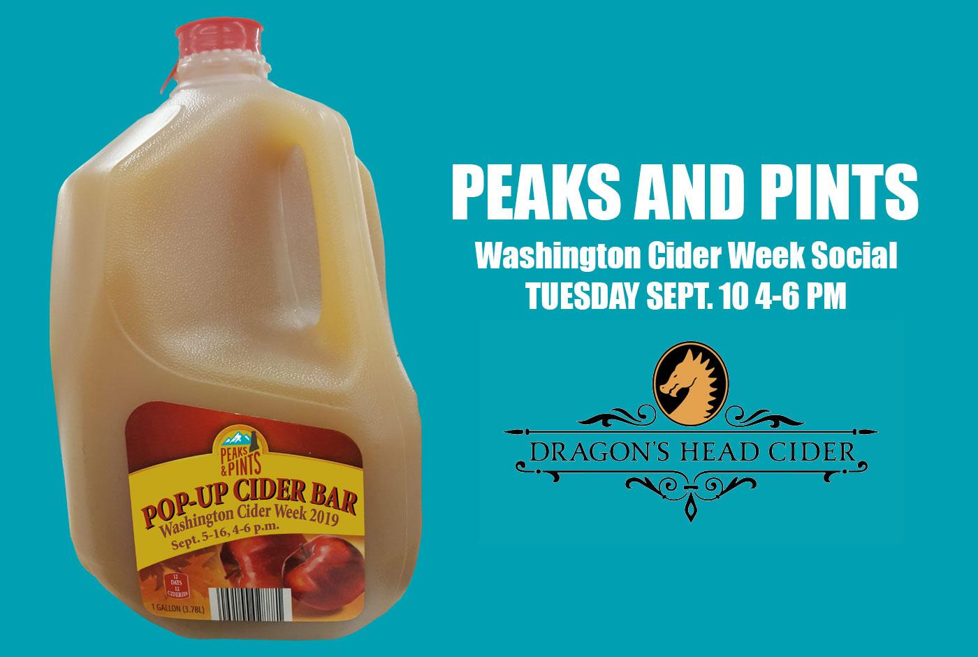 Peaks-and-Pints-Washington-Cider-Week-Social-Dragons-Head-Calendar