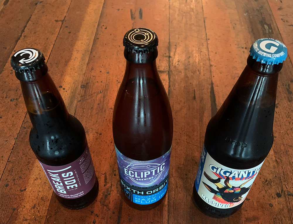 Three new beers from Portlandia