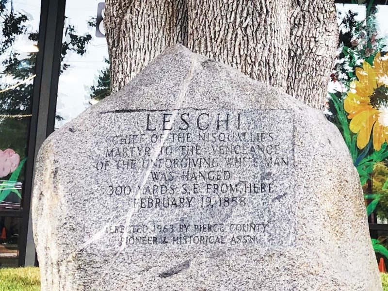 Chief-Leschi-historic-marker-Lakewood-Washington