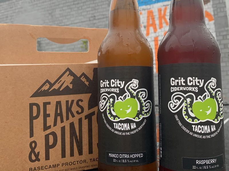 Peaks-and-Pints-Monday-Cider-Flight-Grit-City-Ciderworks